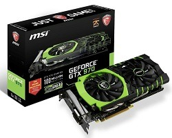MSI gtx 970 Million Edition OC 4GB
