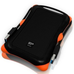 Silicon Power 1TB Rugged Armor A30 External Hard Drive