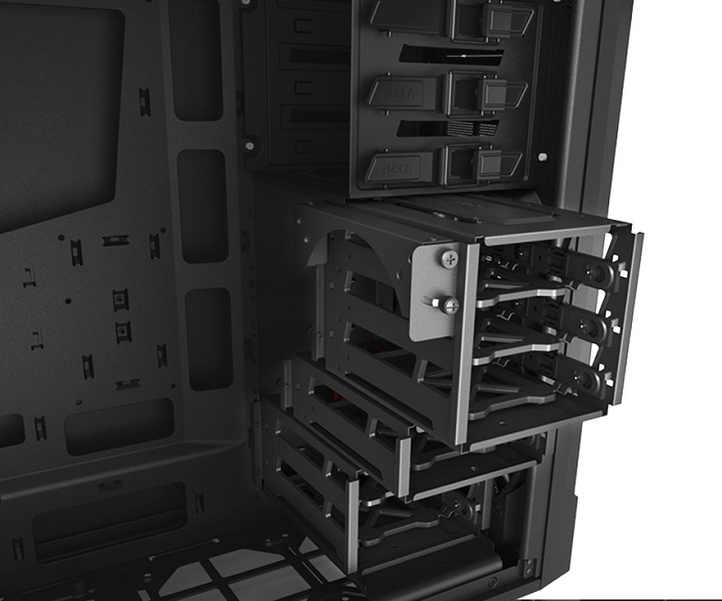 Nzxt source 530 modular hdd cages