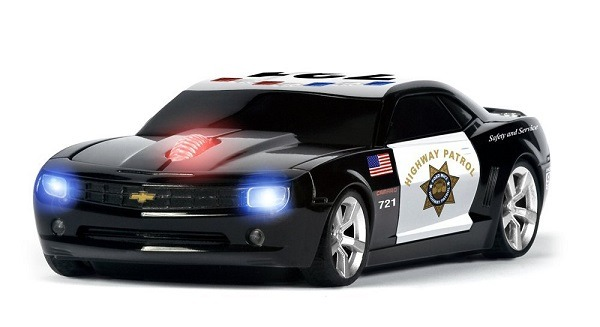 Road Mice Camaro Highway Patrol Wireless Optical Mouse