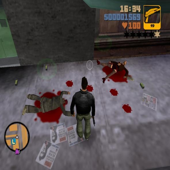 Blood in gta 3