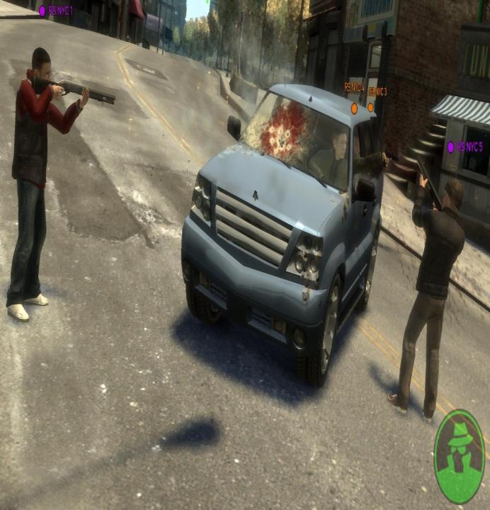 Blood in gta IV