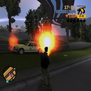 Fire in gta 3
