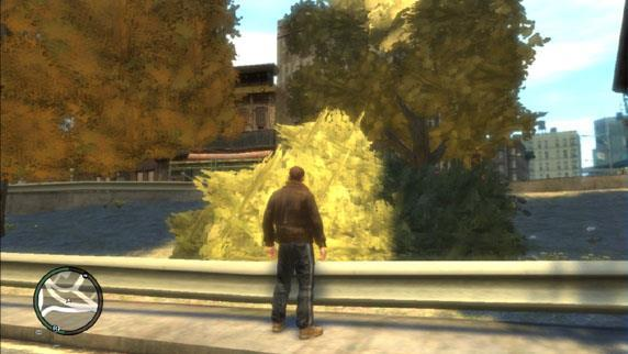 Trees in gta IV