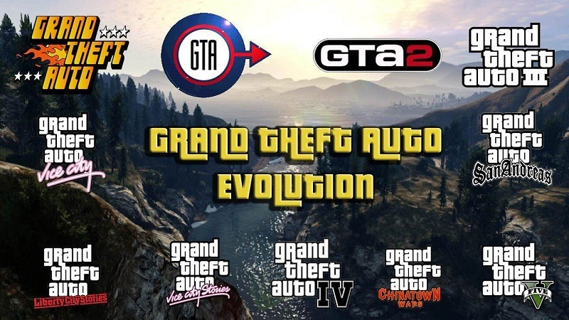 Photo of Evolution of Grand Theft Auto
