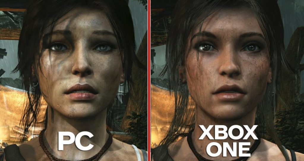 PC vs Xbox one graphics comparison