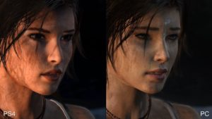 PC vs Xbox one graphics comparison 2