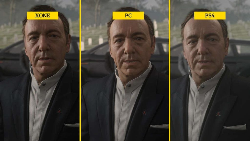 PC vs Xone vs PS4 graphics comparison