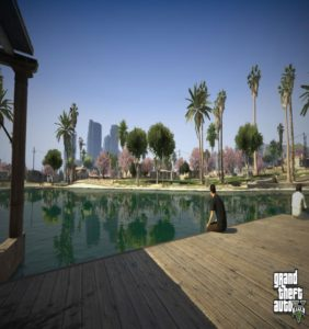 Trees in Gta V 2