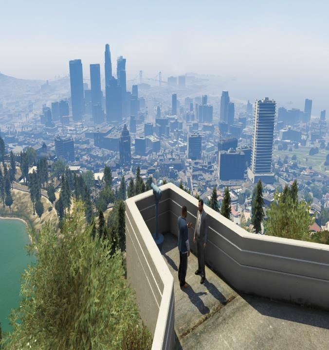 Trees in Gta V