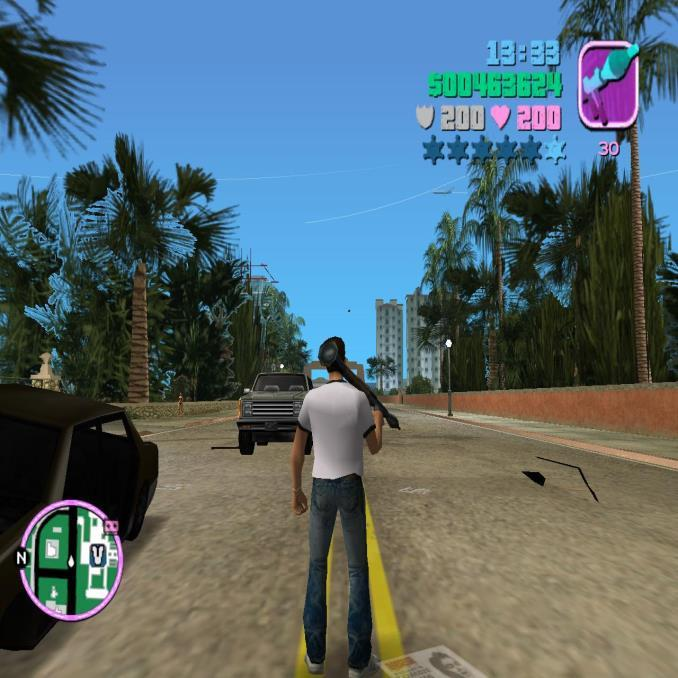 Trees in Gta VC