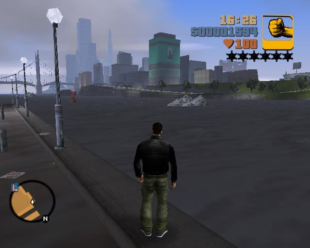 Water in Gta 3