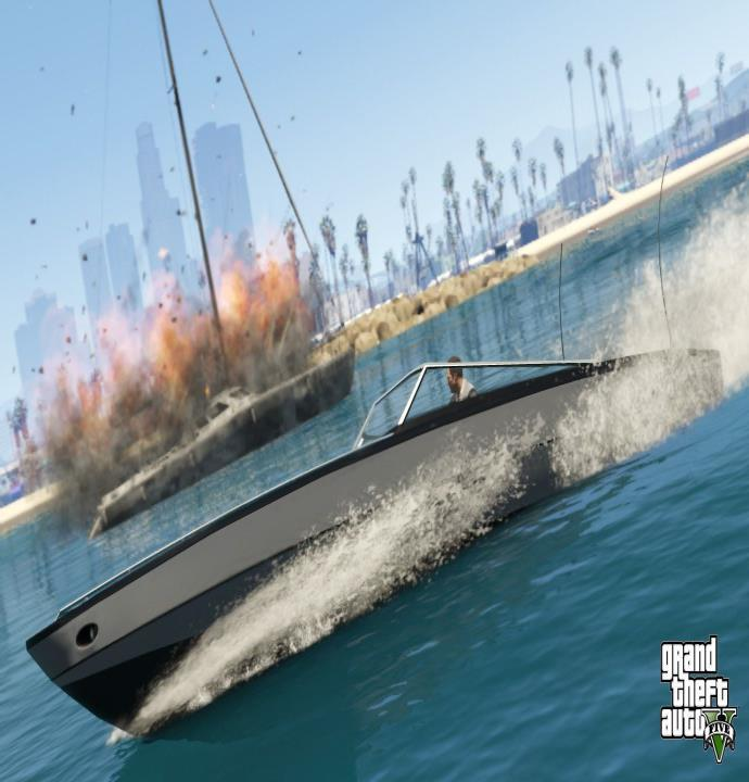 Water in Gta V 2