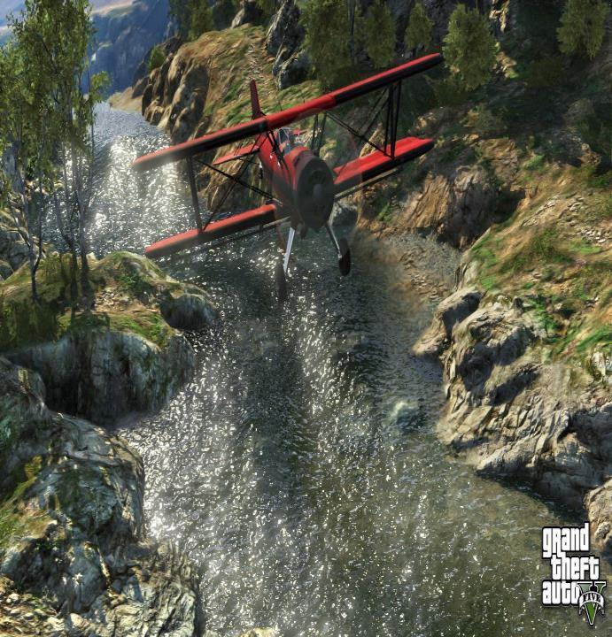 Water in Gta V