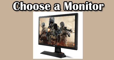 Photo of 3 Simple Steps to choose the best gaming monitor