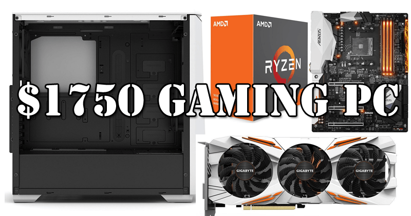Photo of Build the best $1750 gaming pc for 4K ultra