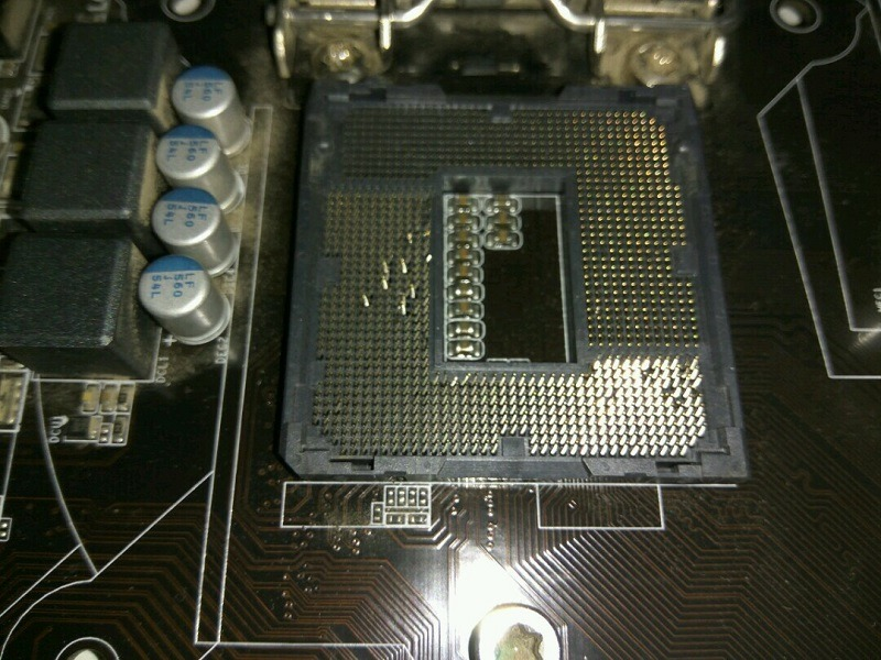 CPU socket pins