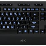 Azio Vision Backlit USB Keyboard