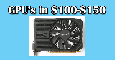 Photo of The best graphics cards under $150