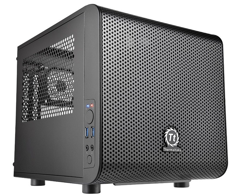 Thermaltake CORE V1 Black Edition Mini-ITX case 1