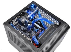 Thermaltake CORE V1 Black Edition Mini-ITX case 5