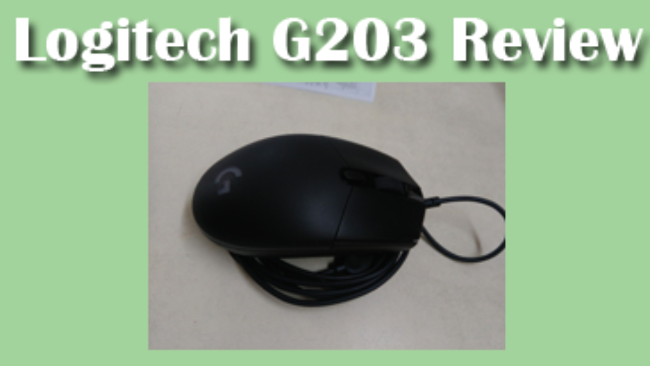 Logitech Prodigy G203 Gaming mouse review – Xtremegaminerd