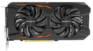 Gigabyte GTX 1050 Ti Windforce OC 4GB GDDR5