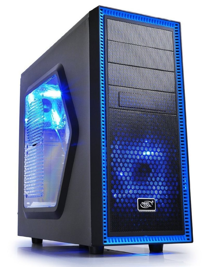 DeepCool TX Mid Tower TESSERACT SW 1