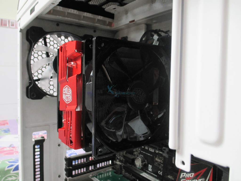 Cooler Master Hyper 212 LED installation clearance