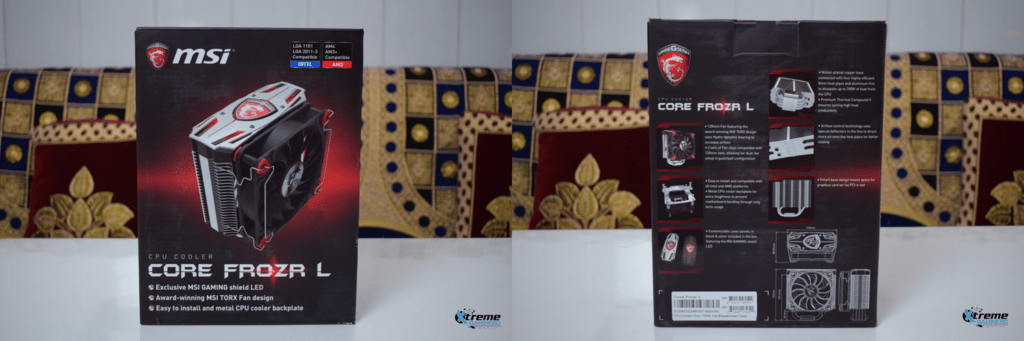 MSI Core Frozr L unboxing