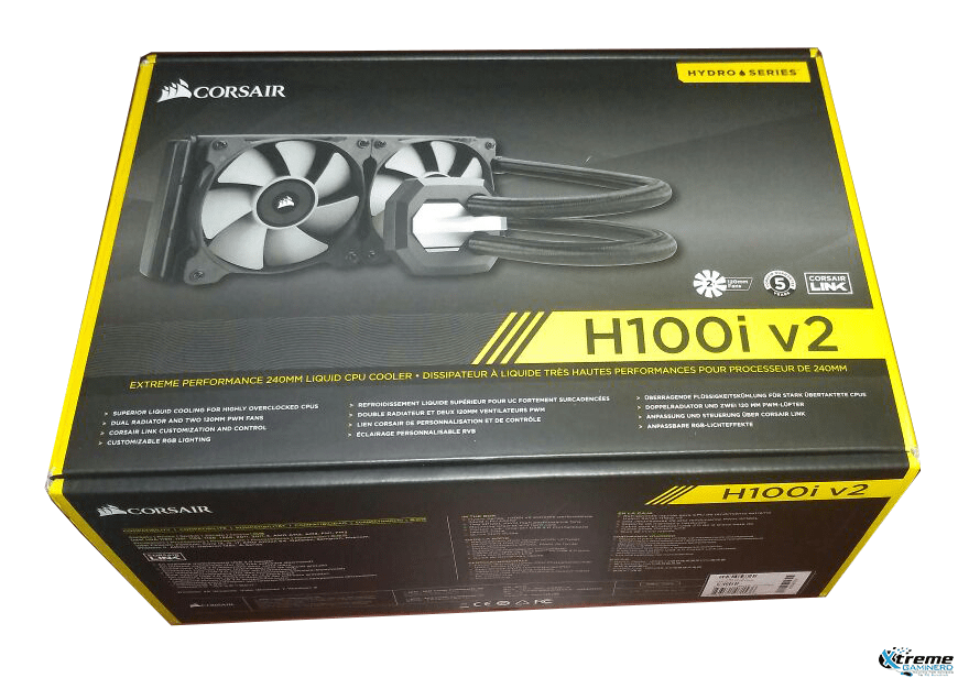 Photo of Corsair Hydro Series H100i v2 liquid CPU cooler review