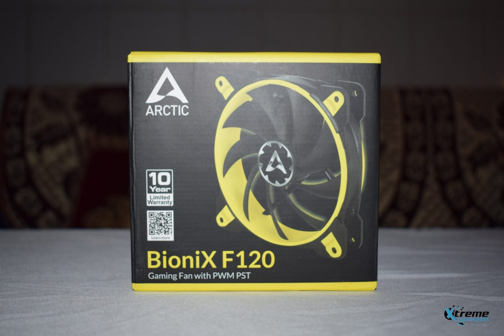 Arctic BioniX F120 gaming fan package front