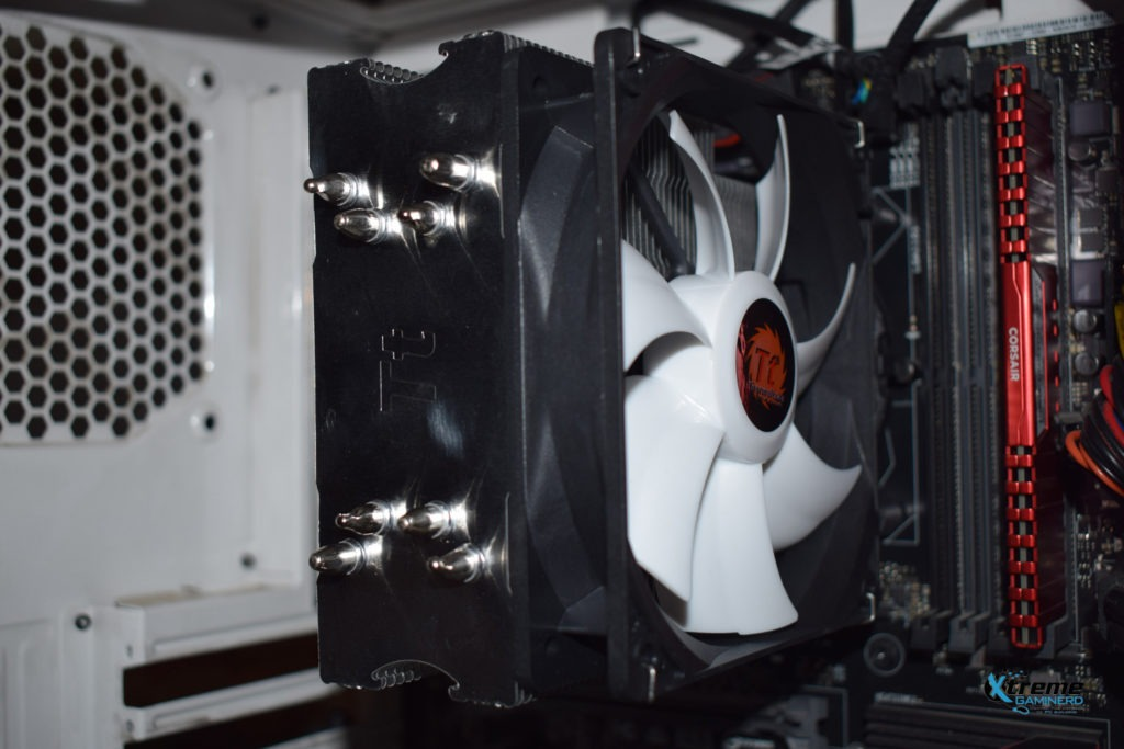 Thermaltake Contac Silent 12 installation complete 2