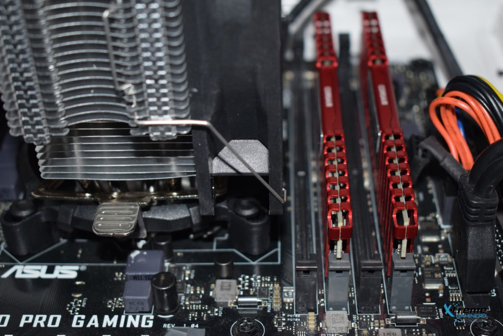 Thermaltake Contac Silent 12 installation ram clearance