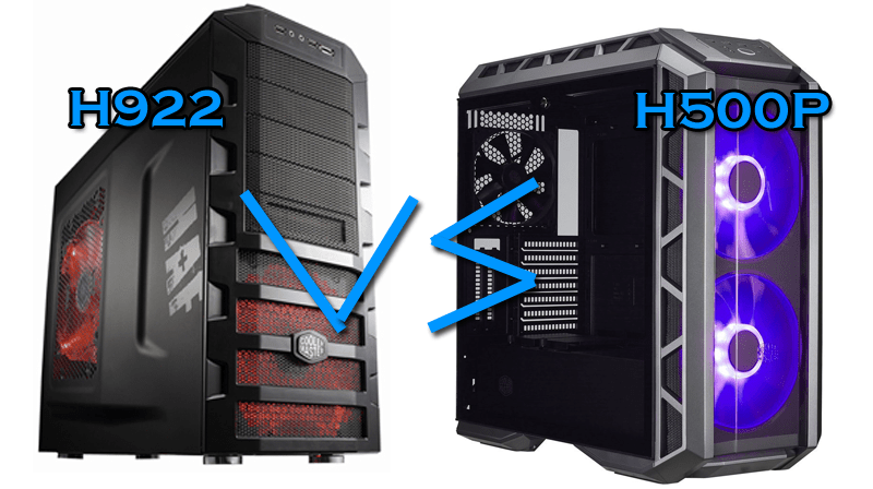 Photo of Cooler Master H500p vs Cooler Master H922