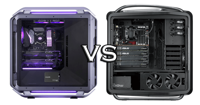 Cooler master C700P vs Cosmos II featured