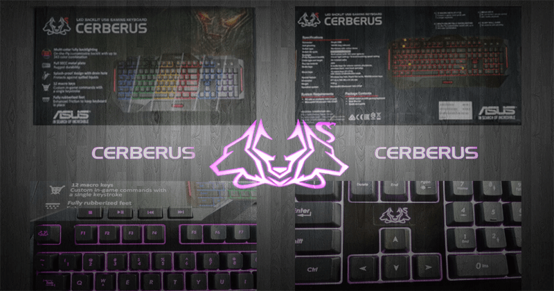 Photo of Asus Cerberus MKII Gaming Keyboard Review