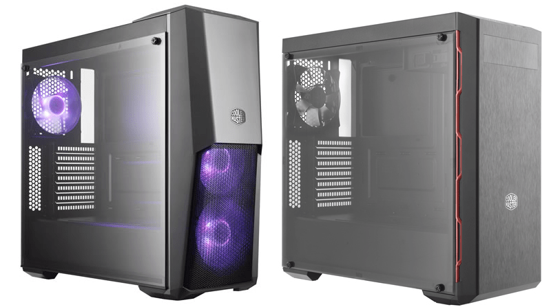 Cooler Masterbox MB500 and MB600L