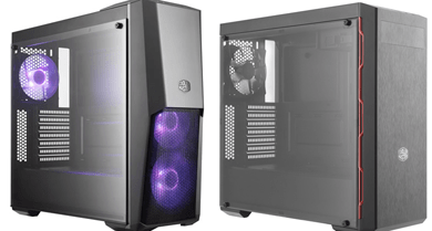 Cooler Masterbox shows new cases featured