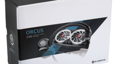 Raijintek Orcus Core RGB AIO cooler featured