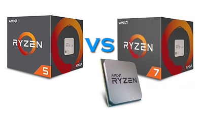 Ryzen 5 1600 vs Ryzen 7 1700 featured