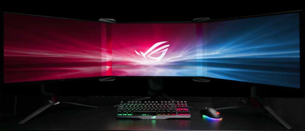 With Asus Bezel kit