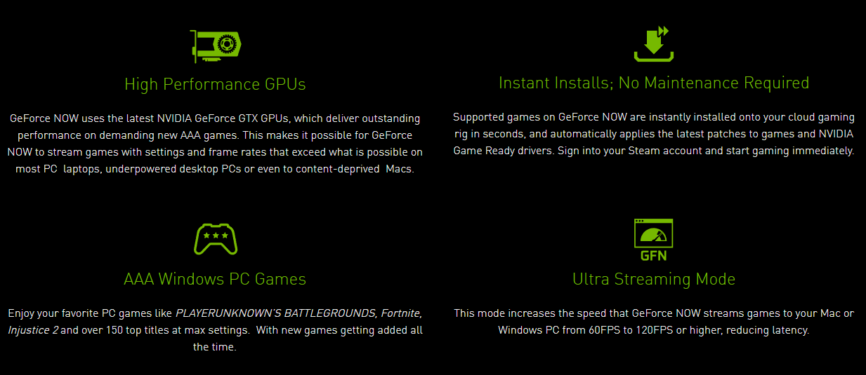 Benefits of Geforce Now