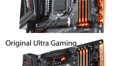 Gigabyte Aorus Z370 Ultra Gaming 2.0 comparison