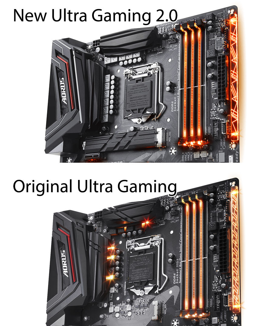 Aorus Z370 Ultra gaming 2 0 motherboard now has better VRM