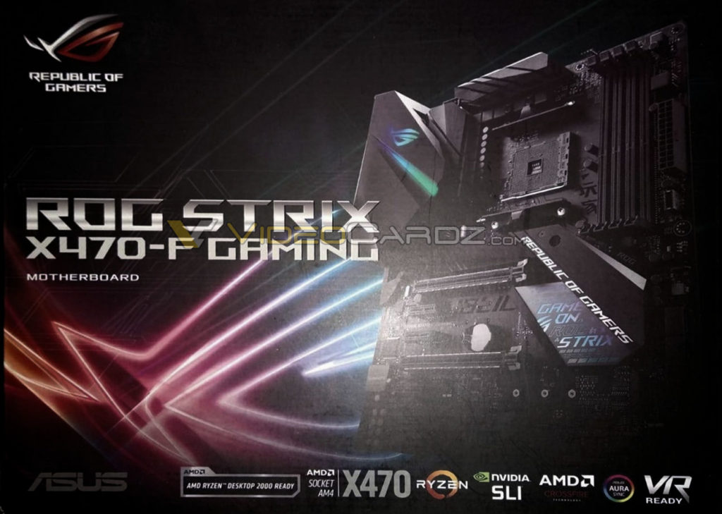 Asus Strix X470-F gaming motherboard