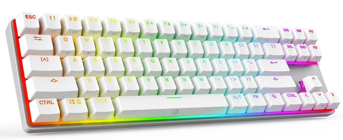 DREVO Calibur 71-Key RGB LED Mechanical Keyboard