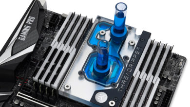 Photo of EK Waterblocks comes out with a Monoblock for ASRock X399 Motherboards again