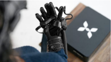 Photo of HaptX's VR glove reveals its progress since November 2017