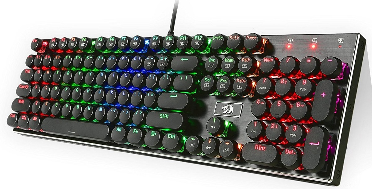 Redragon K556-RK RGB LED Backlit Mechanical Gaming Keyboard